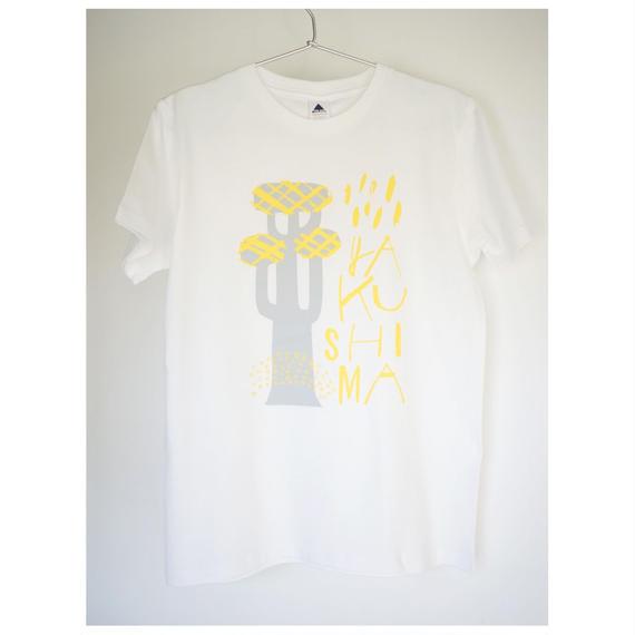 屋久島Tシャツ(ホワイト)