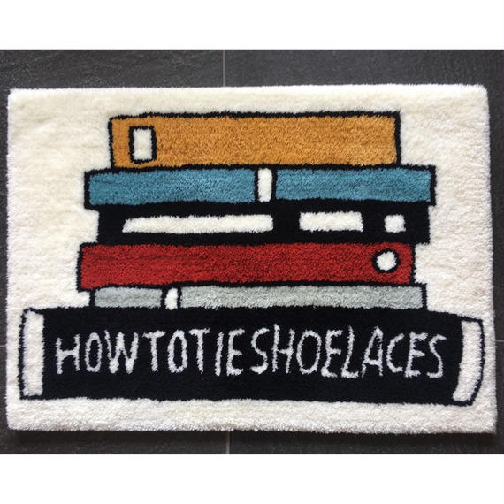 """""""How To Tie Shoelaces Rug"""" (STOMACHACHE)"""