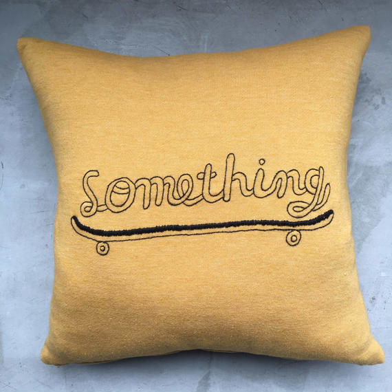 """Something""  CUSHION  ( STOMACHACHE )"