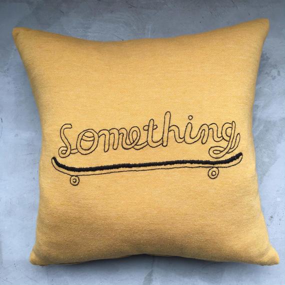 """Something""  CUSHION  ( STOMACHACHE )"