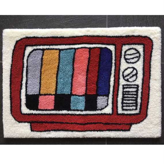 """Color TV Rug"" (STOMACHACHE)"
