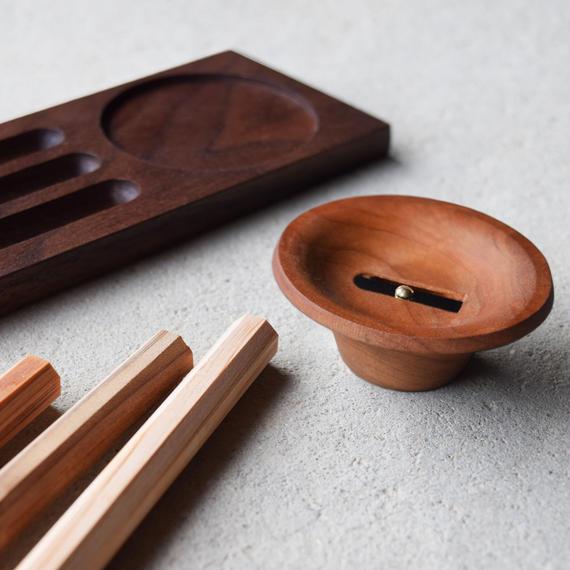 【ご注文受付中】木聞器 セット002 - ブラックチェリー
