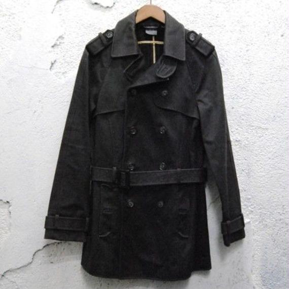 """ARMANI EXCHANGE"" Double Peacoat"