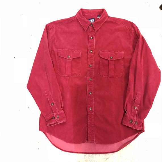 【OLD GAP】太畝コーデュロイシャツ