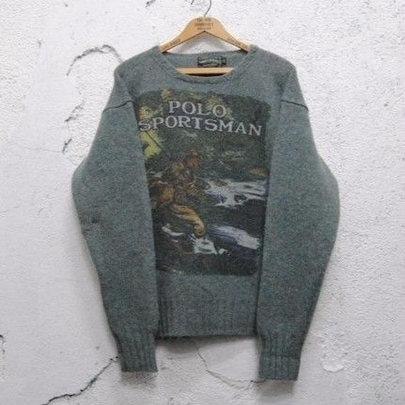 【POLO COUNTRY】Wool Knit Sweater