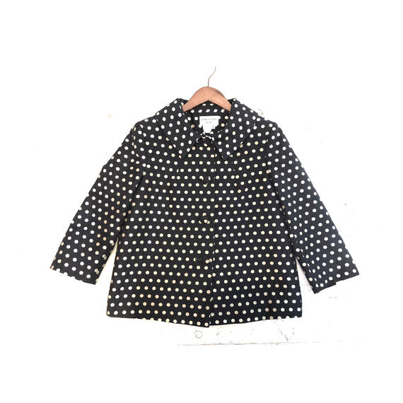 【CHARLES GRAY】 dot jacket