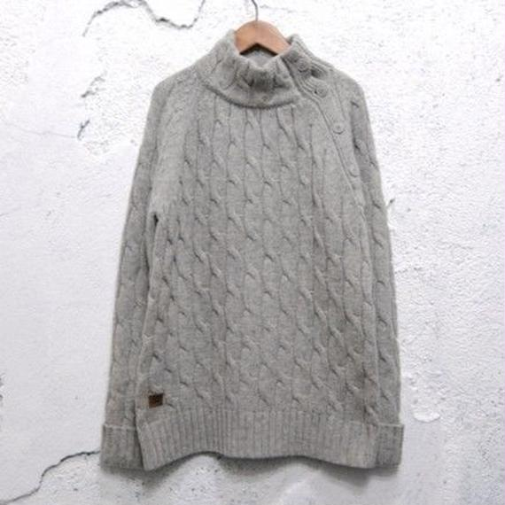 【Schott】Wool Design Knit Sweater