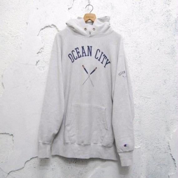 【champion】90s reverse weave hooded sweat shirt