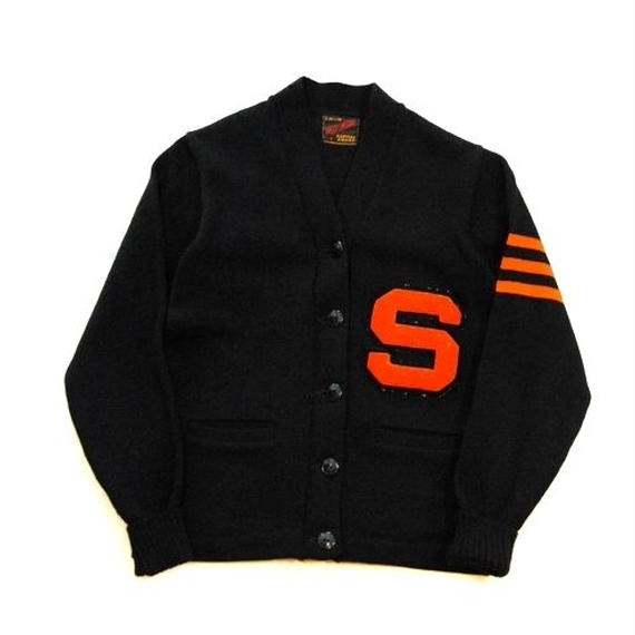 【WIL WITE】60s Lettered Cardigan