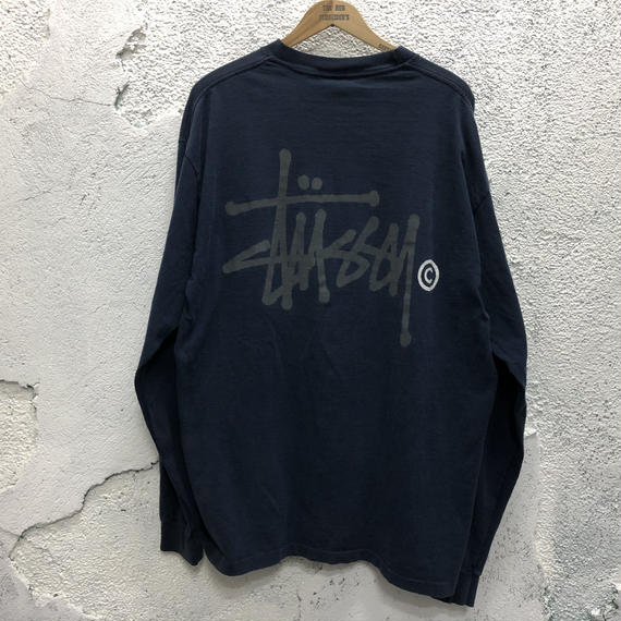 〜90s USA 【OLD STUSSY】L/S tee