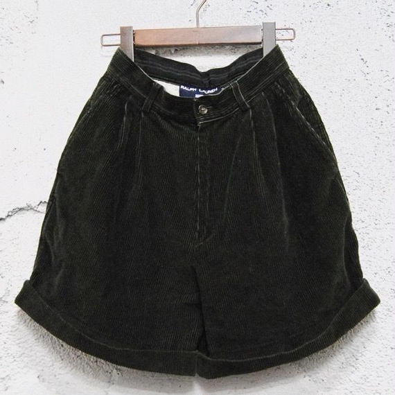 【POLO SPORT】corduroy short pants