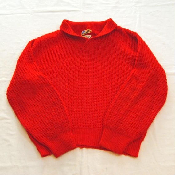 【Pilgrim】Shawl Coller Knit