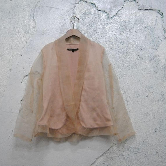 ''MARC JACOBS'' See-through Jacket