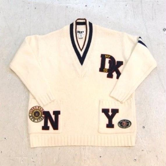 90s【DKNY】sweater