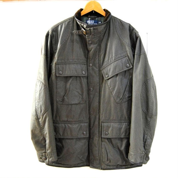 【POLO Ralphlauren】Oiled Jacket