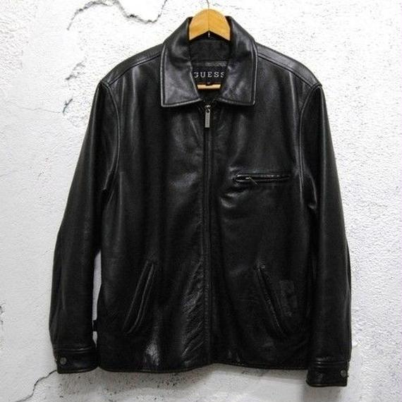 【GUESS】Leather Jacket