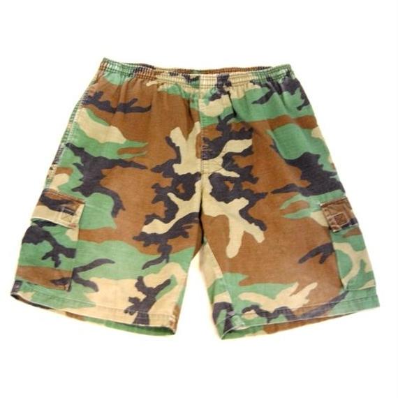 90s 【OLD STUSSY】Half Cargo Pants
