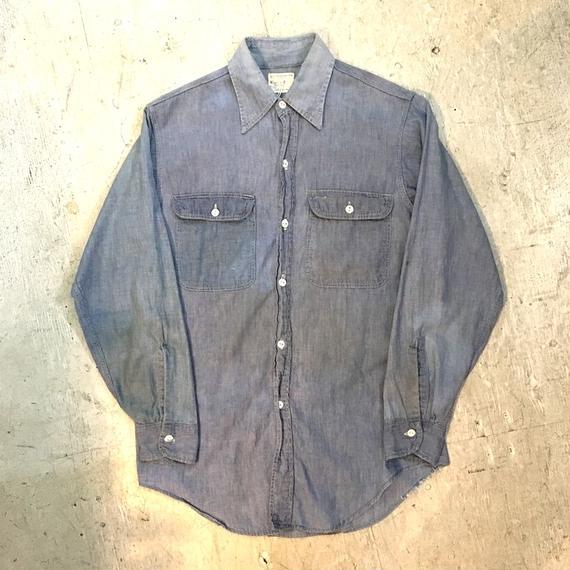 【BIG MAC】60s  シャンブレーシャツ