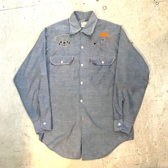 【BIG MAC】70s シャンブレーシャツ