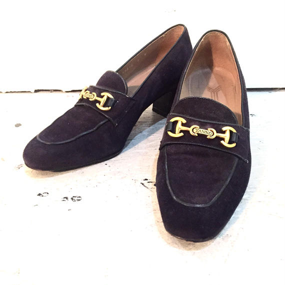 """YANKO"" suede leather shoes"