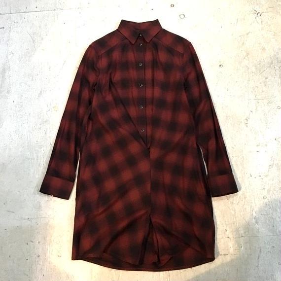 【ALLSAINTS】オンブレチェックシャツ