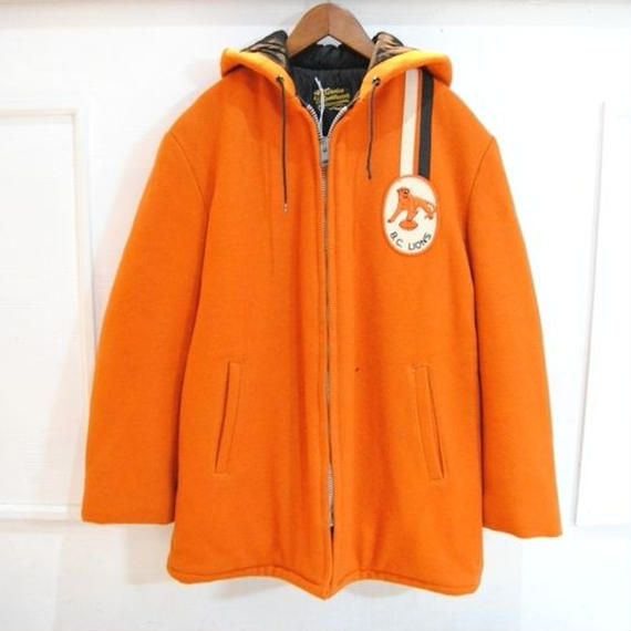 ~70s Hooded Award Coat