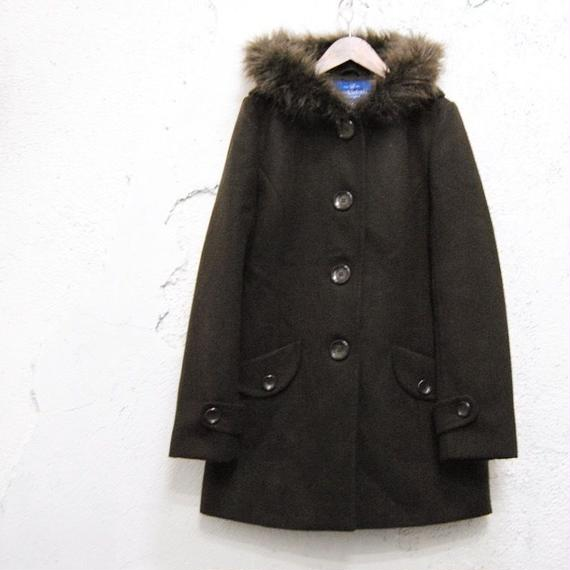 【MACKINTOSH】wool hoodie coat