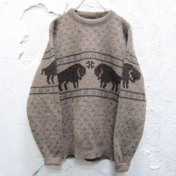 【PENDLETON】wool sweater