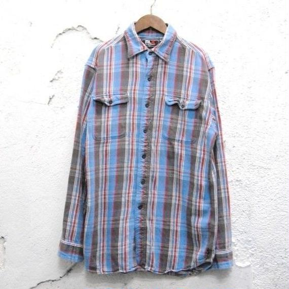 【RLX ralph lauren】 flannel shirt