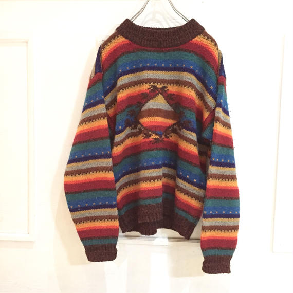 【WOOLRICH】nordic sweater