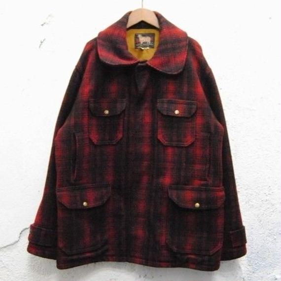 """woolrich"" double mackinaw jacket"