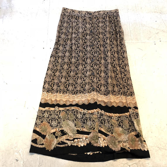 USA rayon long skirt