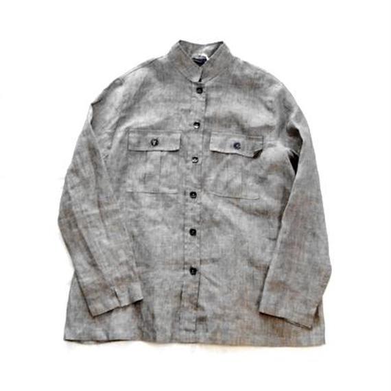 ''LIZ CLAIBORNE'' Linen Shirt Jacket