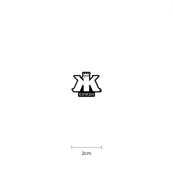 KIMKEN® Sticker 2cm【White】