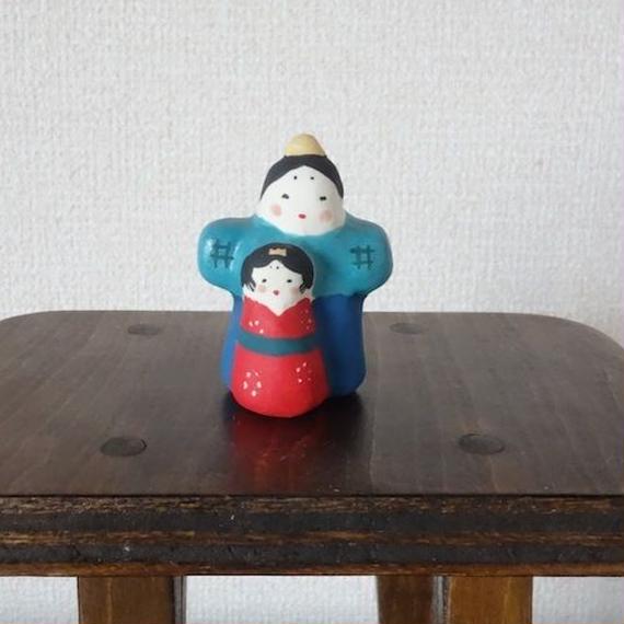 ミニ立ち雛 Mini Standing Hina doll