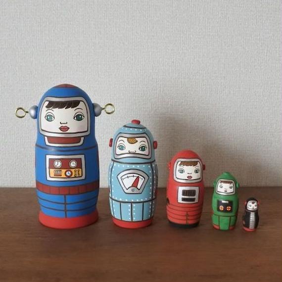 MATRYOSHKA 5sets ロボット  Robot