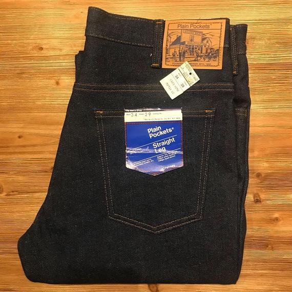 DEADSTOCK   J.C.  Penney  Plain Pockets  Denim Pants