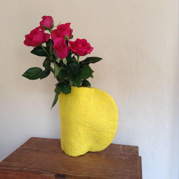 花瓶カバー「半月 無地」