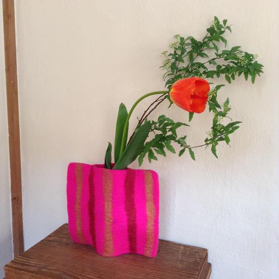花瓶カバー「ストライプ」