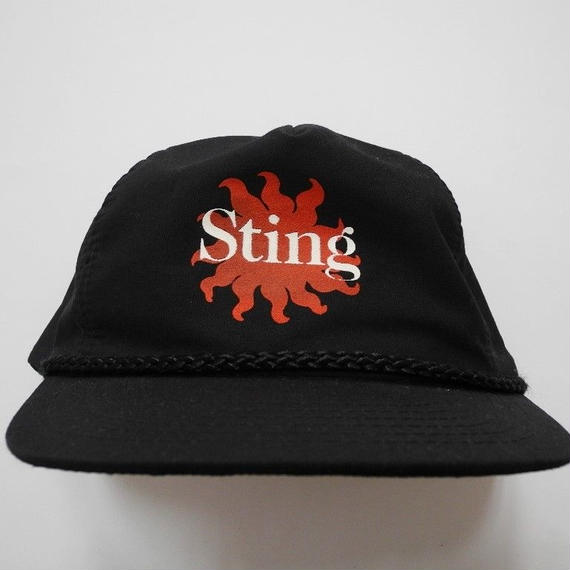 STING SNAP BACK CAP FREE SIZE