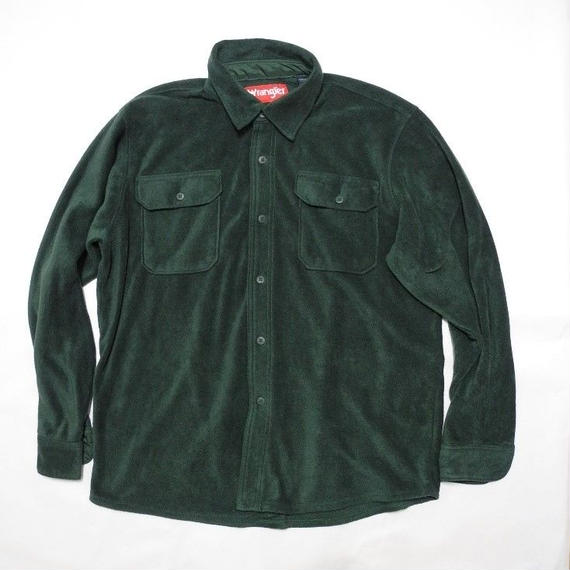 Wrangler  Fleece shirt L Green