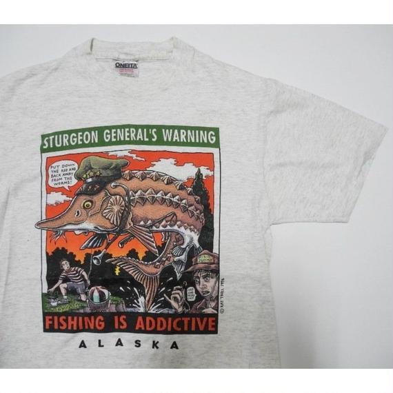 RAY TROLL 1996 FISHING T-shirt M