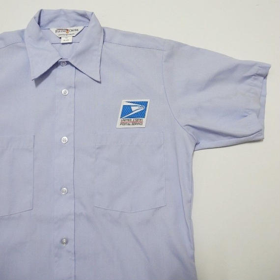 USPS  uniform S/s shirt S~M Dead Stock
