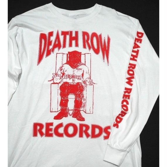 DEATH ROW RECORDS L/s T-SHIRT M