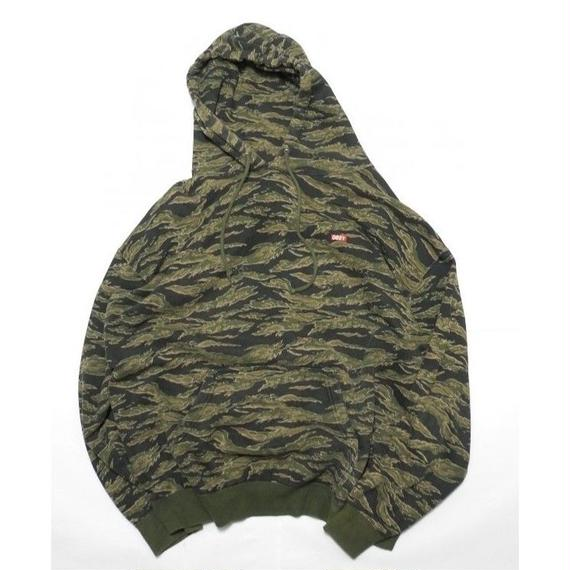 OBEY TIGER CAMO HOODIE XL