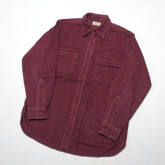 LLBEAN CHAMOIS CLOTH SHIRT M