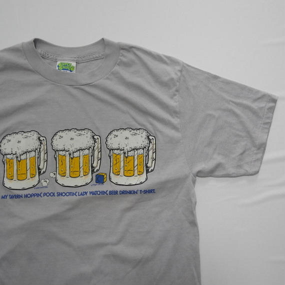 SUPER SHIRTS BEER  T-shirt XL MADE IN USA