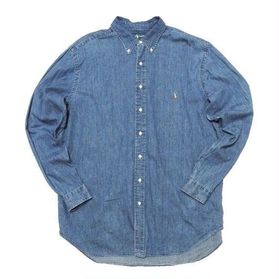 Polo by Ralph Lauren DENIM Shirts XXL TALL