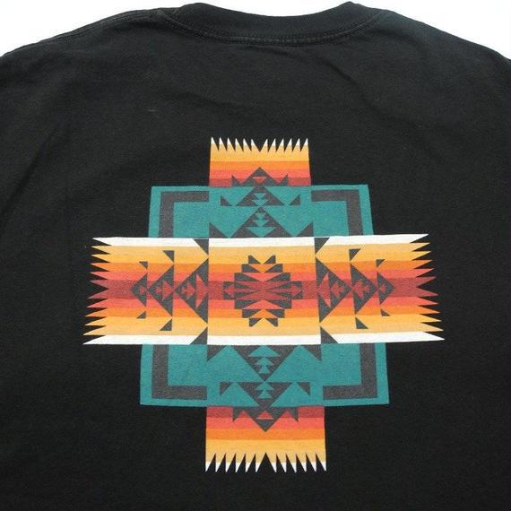 PENDLETON NATIVE PRINT T-shirt L
