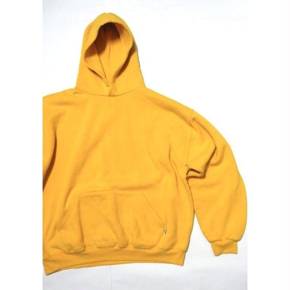 RUSSELL Yellow Hoodie L